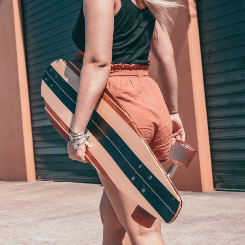 Custom made skateboards longboards wooden handmade